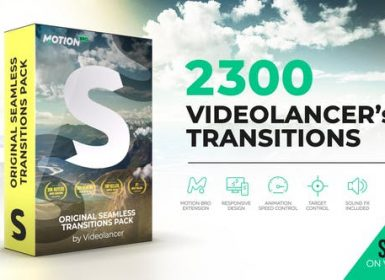 2300个AE扩展无缝转场包 Videolancer's Transitions | Original Seamless Transitions Pack V6.1